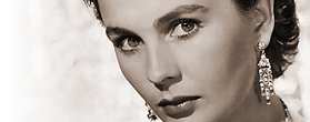 British actress Jean Simmons