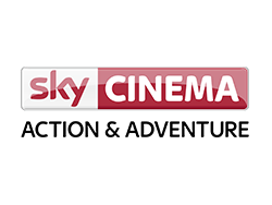 Logo of Sky Cinema Action and Adventure