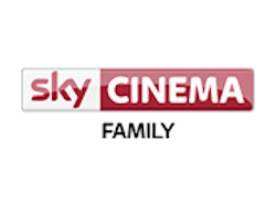 Logo of Sky Cinema Family