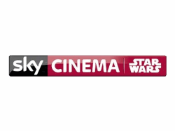 Logo of Sky Cinema Star Wars