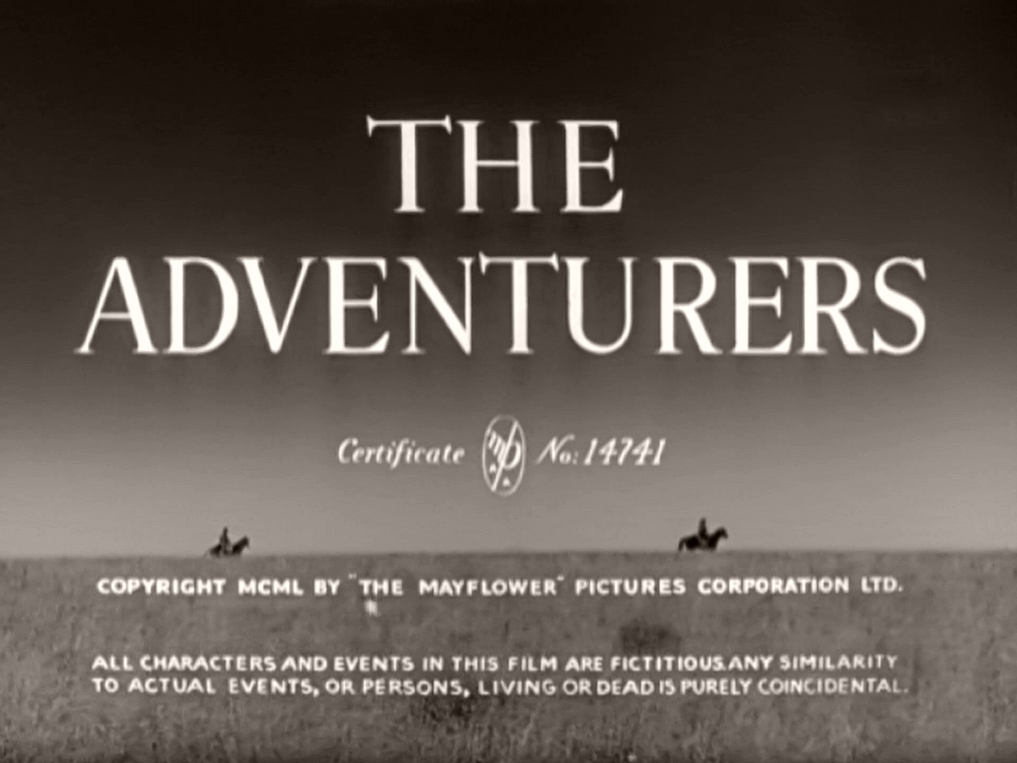 Main title from The Adventurers (1951) (4)