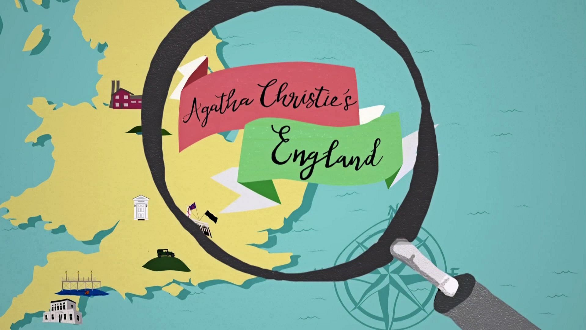 Main title from Agatha Christie's England (2021) (1)