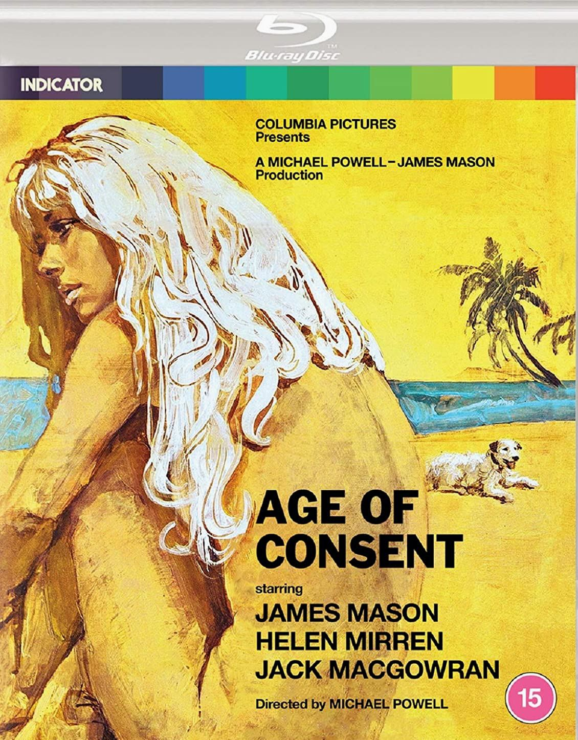 DVD cover of Age of Consent (1969) from Powerhouse Films [2021] (1)