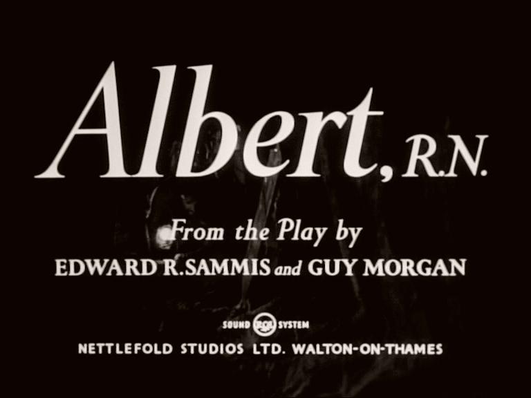 Main title from Albert R.N. (1953)