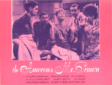 American lobby card from The Amorous Mister Prawn [The Amorous Prawn] (1962) (1)
