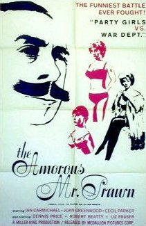 American poster for The Amorous Mister Prawn [The Amorous Prawn] (1962) (1)