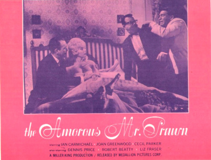 Lobby card from The Amorous Mister Prawn [The Amorous Prawn] (1962) (4)