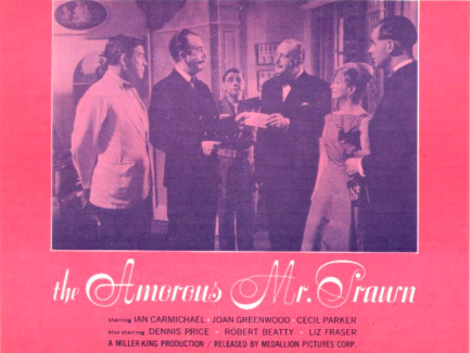 Lobby card from The Amorous Mister Prawn [The Amorous Prawn] (1962) (5)