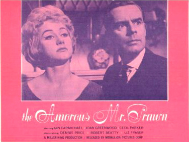 Lobby card from The Amorous Mister Prawn [The Amorous Prawn] (1962) (7)