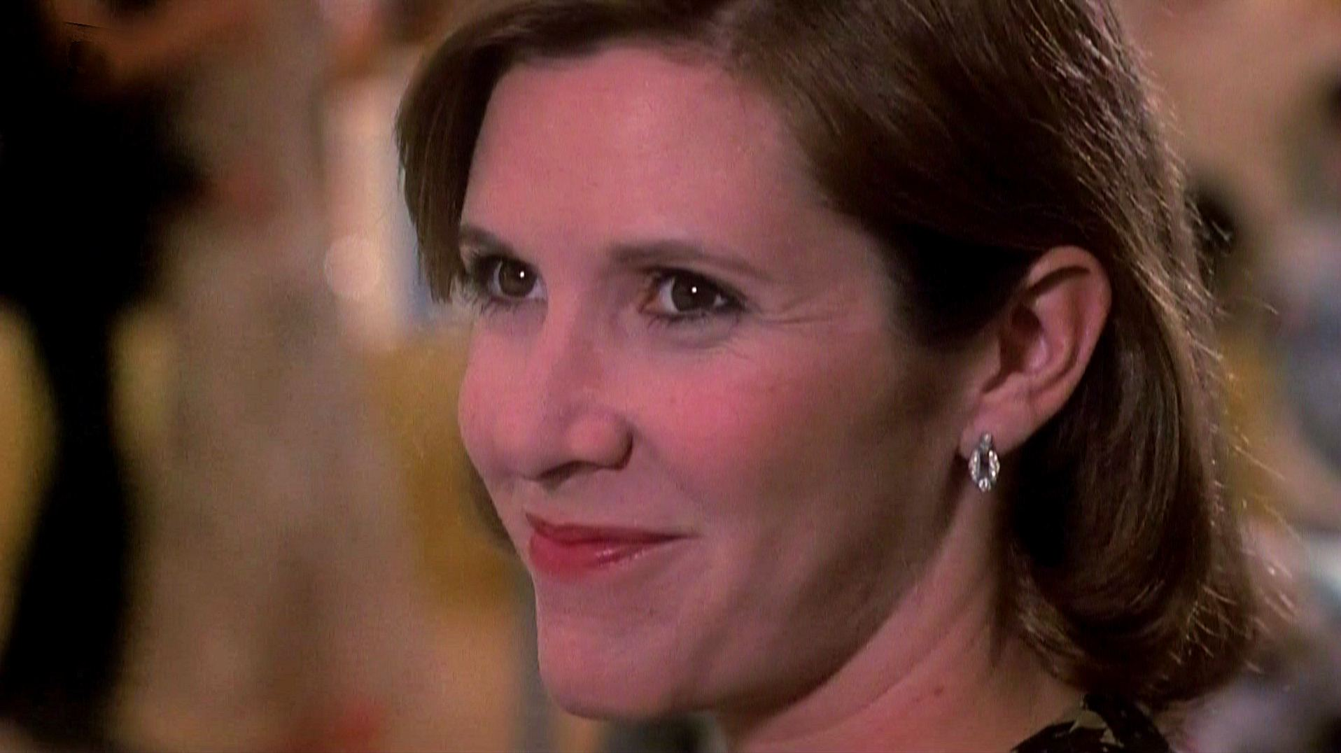 Screenshot from Appointment with Death (1988) (9) featuring Carrie Fisher