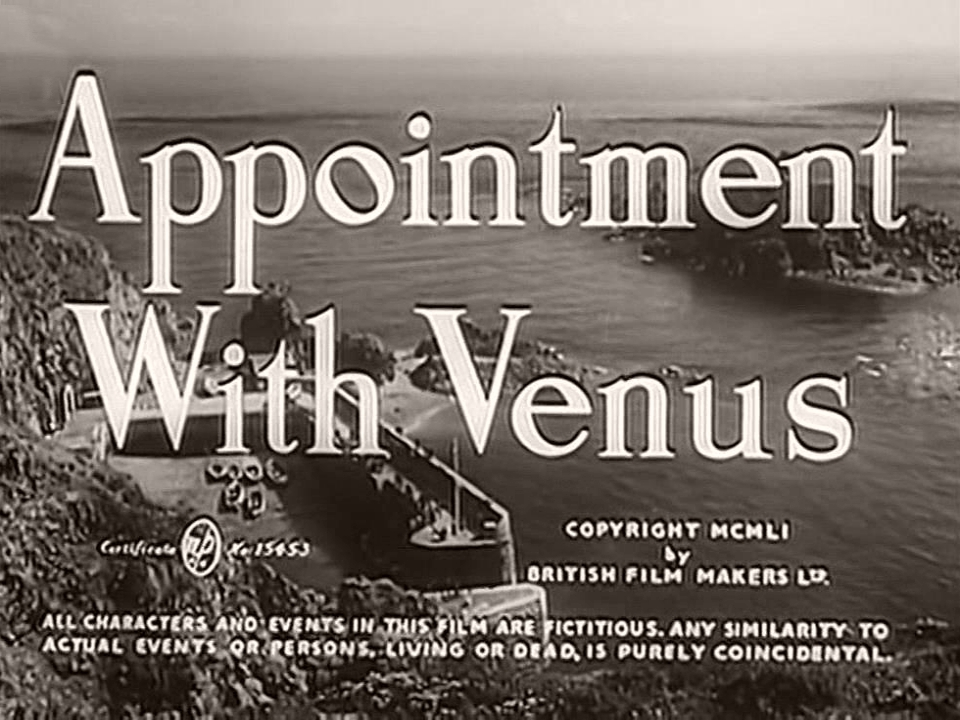 Main title from Appointment with Venus (1951)