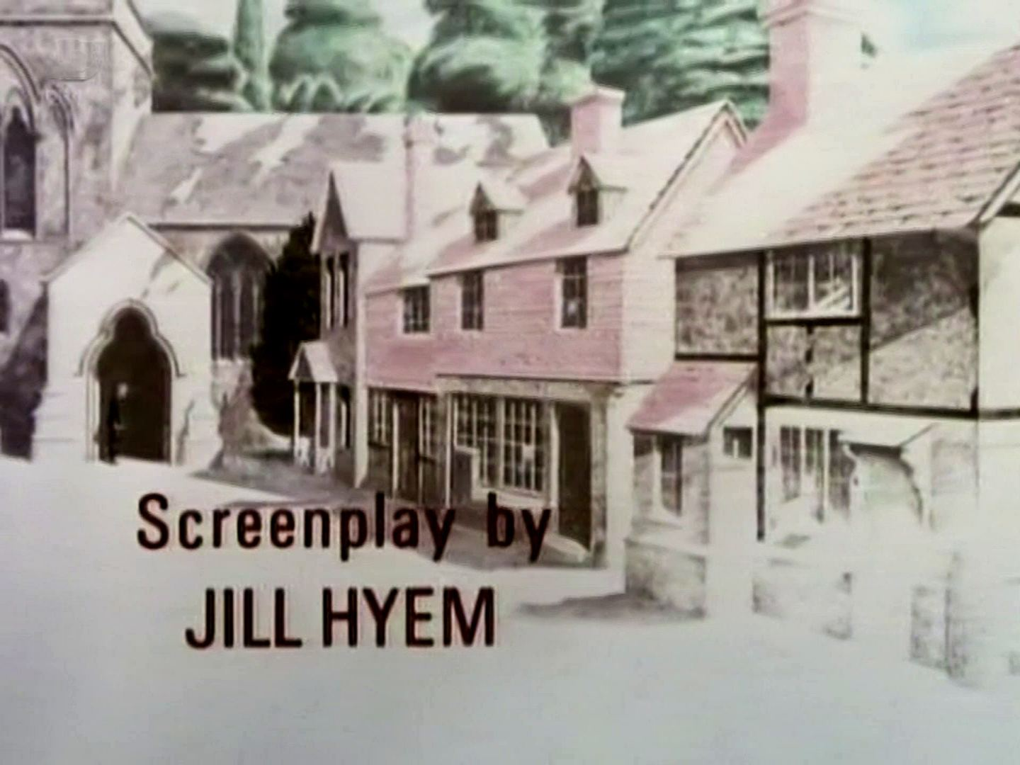 Main title from the 1987 'At Bertram's Hotel' episode of Agatha Christie's Miss Marple (1984-1992) (3)