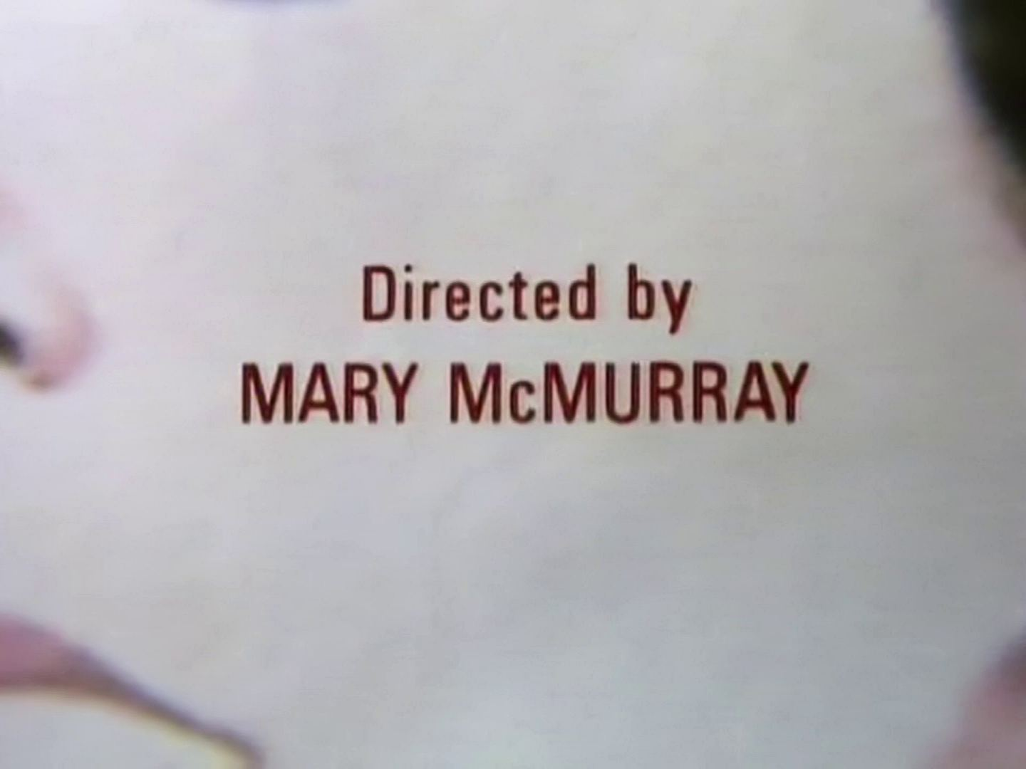 Main title from the 1987 'At Bertram's Hotel' episode of Agatha Christie's Miss Marple (1984-1992) (4)