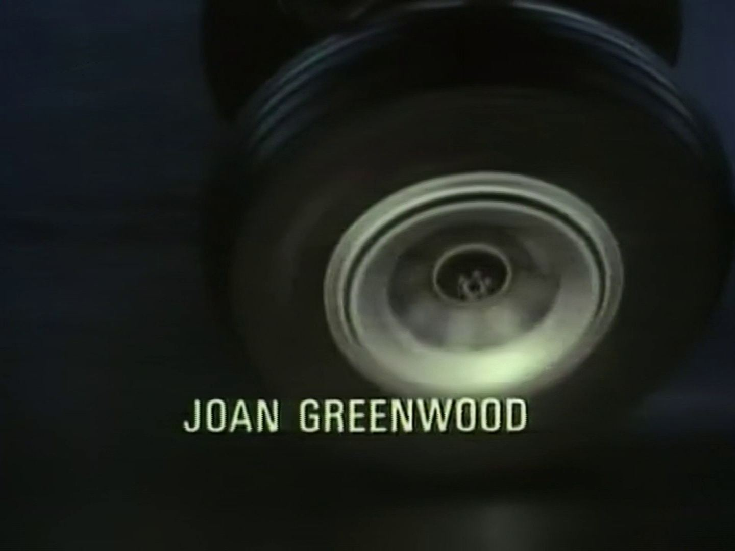 Main title from the 1987 'At Bertram's Hotel' episode of Agatha Christie's Miss Marple (1984-1992) (8). Joan Greenwood