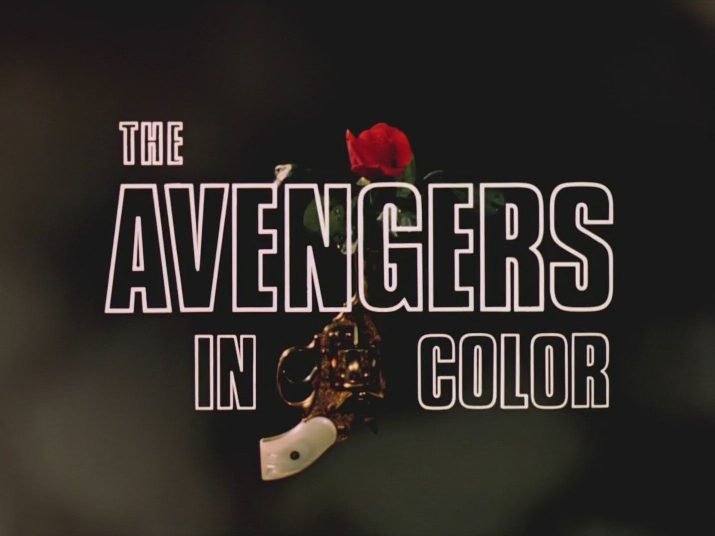 Main title from The Avengers (1961-69) (1). The Avengers in color