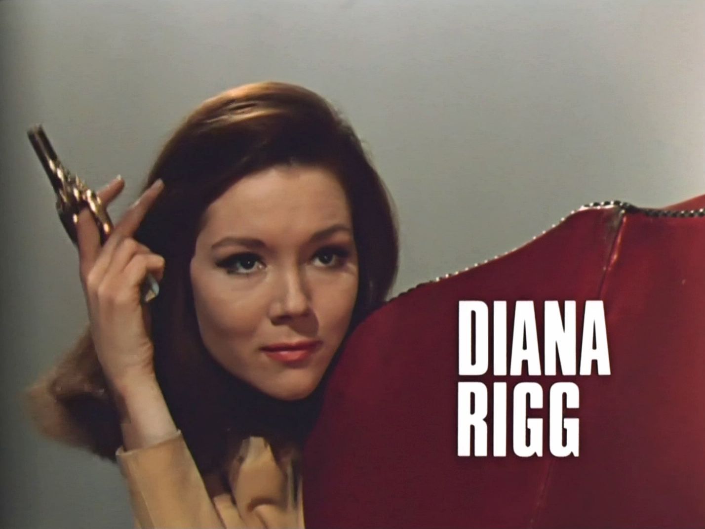 Main title from The Avengers (1961-69) (5). Diana Rigg