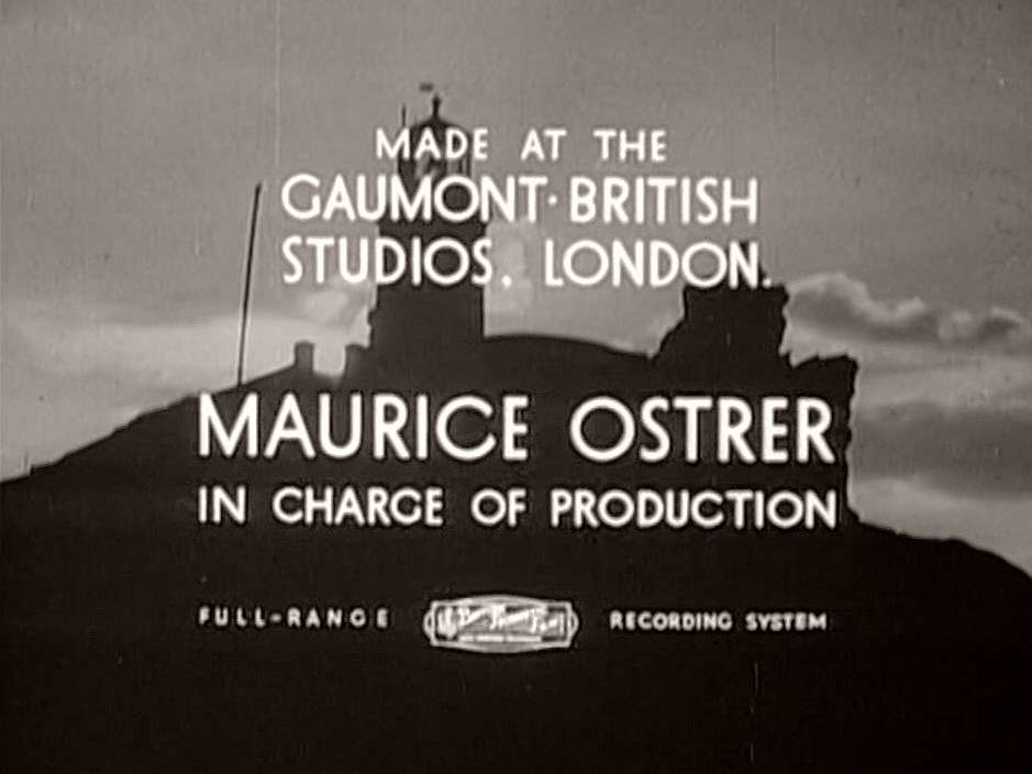 Main title from Back-Room Boy (1942) (6).  Made at the Gaumont-British Studios London.  Maurice Ostrer in charge of production