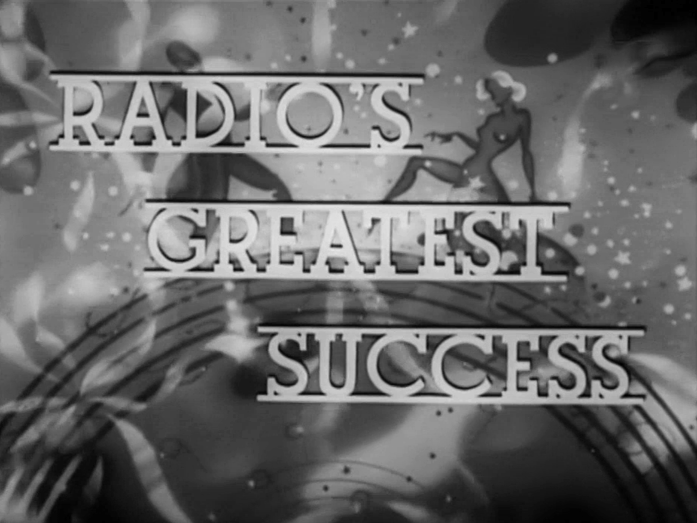 Main title from Band Waggon (1940) (2). Radio's greatest success