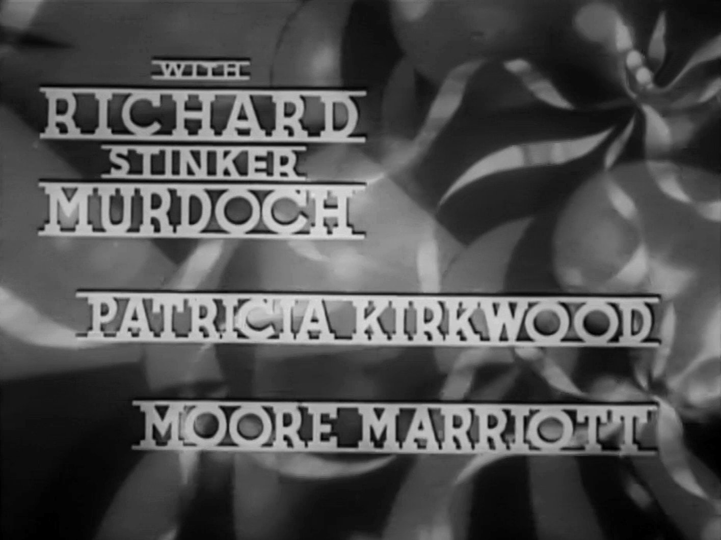 Main title from Band Waggon (1940) (7). With Richard 'Stinker' Murdoch, Patricia Kirkwood, Moore Marriott