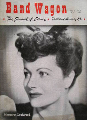Band Wagon magazine with Margaret Lockwood.  The Journal of Leisure.