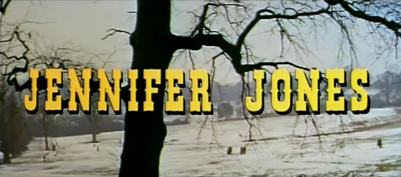 Main title from The Barretts of Wimpole Street (1957) (2). Jennifer Jones