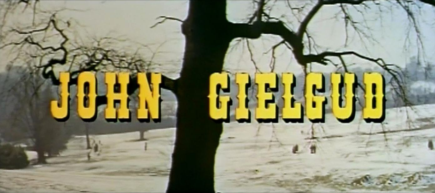 Main title from The Barretts of Wimpole Street (1957) (3). John Gielgud