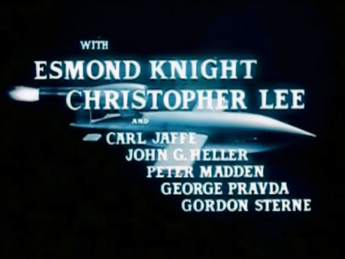 Main title from Battle of the V-1 (1958) (4). Esmond Knight, Christopher Lee