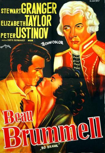 Beau Brummell 1954 Stewart Granger Elizabeth Taylor