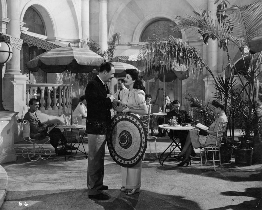 Ian Hunter (as Charlie Carrington) and Margaret Lockwood (as Bedelia Carrington) in a photograph from Bedelia (1946) (17)