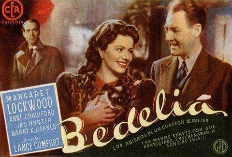 Spanish poster for Bedelia (1946) (1)