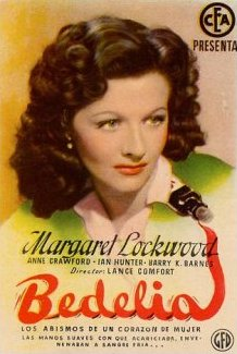 Spanish poster for Bedelia (1946) (2)
