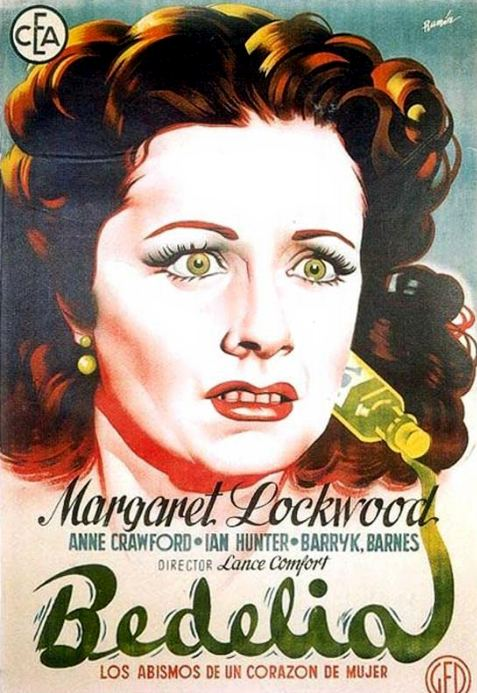 Spanish poster for Bedelia (1946) (3)