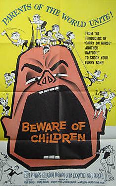 American poster for Beware of Children [No Kidding] (1960) (1)