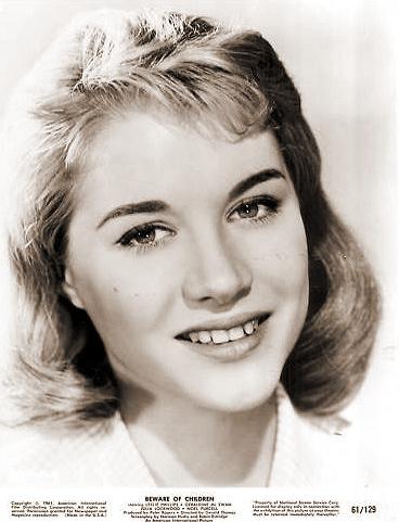 Julia Lockwood (as Fenella/'Vanilla') in a photograph from Beware of Children [No Kidding] (1960) (2)
