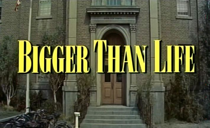 Main title from Bigger Than Life (1956)
