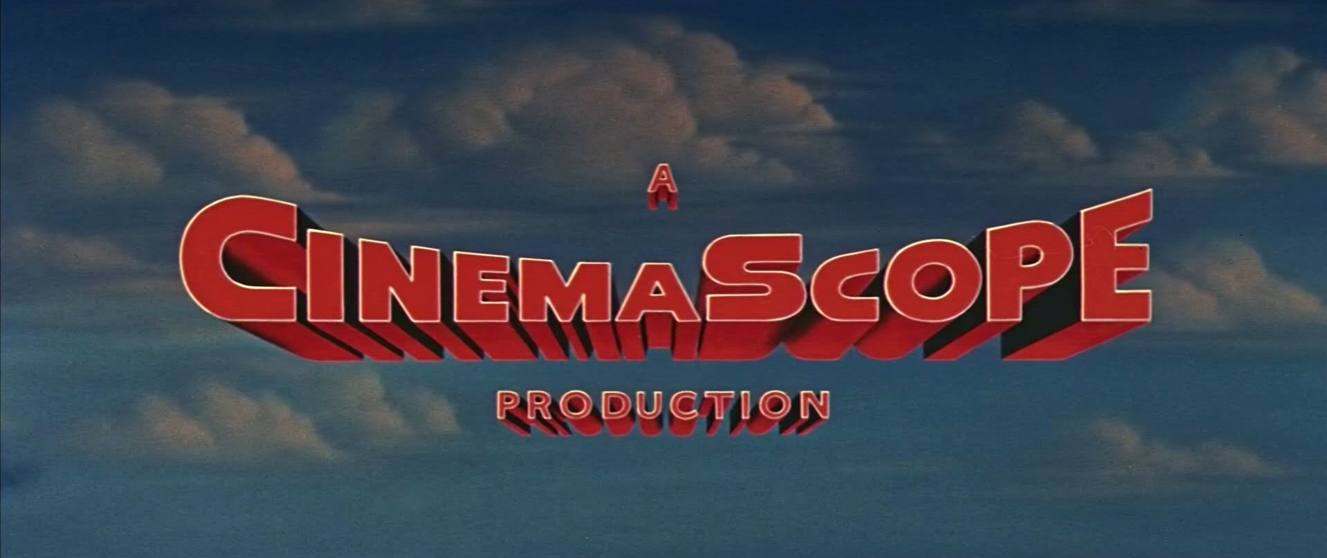 Main title from The Black Shield of Falworth (1954) (2). A CinemaScope production