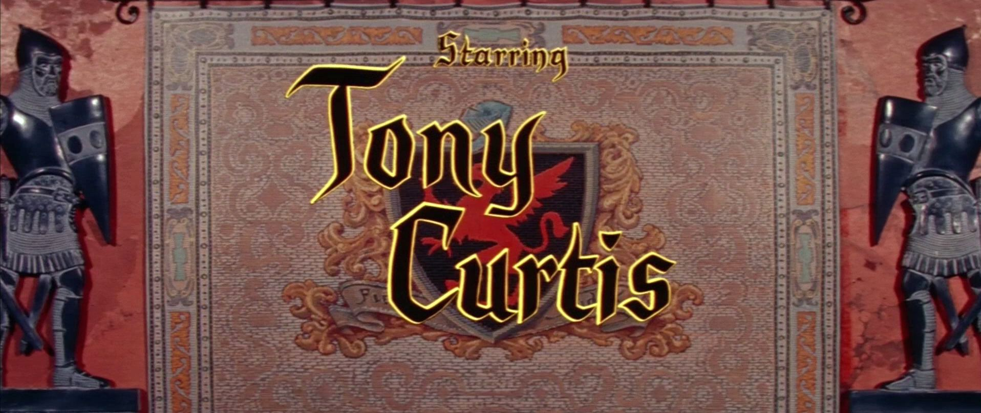 Main title from The Black Shield of Falworth (1954) (5). Starring Tony Curtis
