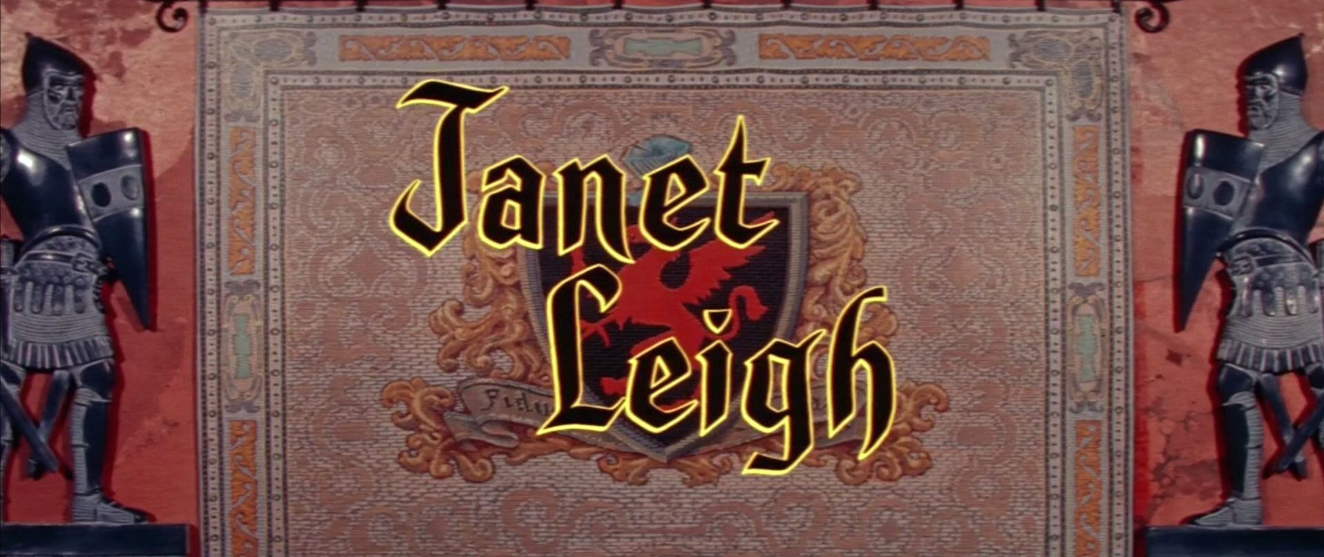 Main title from The Black Shield of Falworth (1954) (6). Janet Leigh