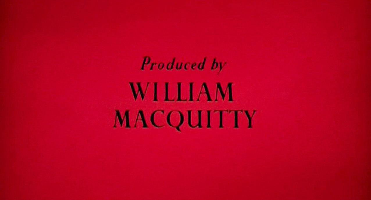 Main title from The Black Tent (1956) (13).  Produced by William Macquitty