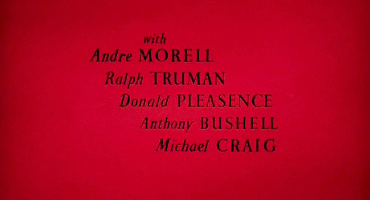 Main title from The Black Tent (1956) (5).  WIth Andre Morell Ralph Truman, Donald Pleasence, Anthony Bushell, Michael Craig