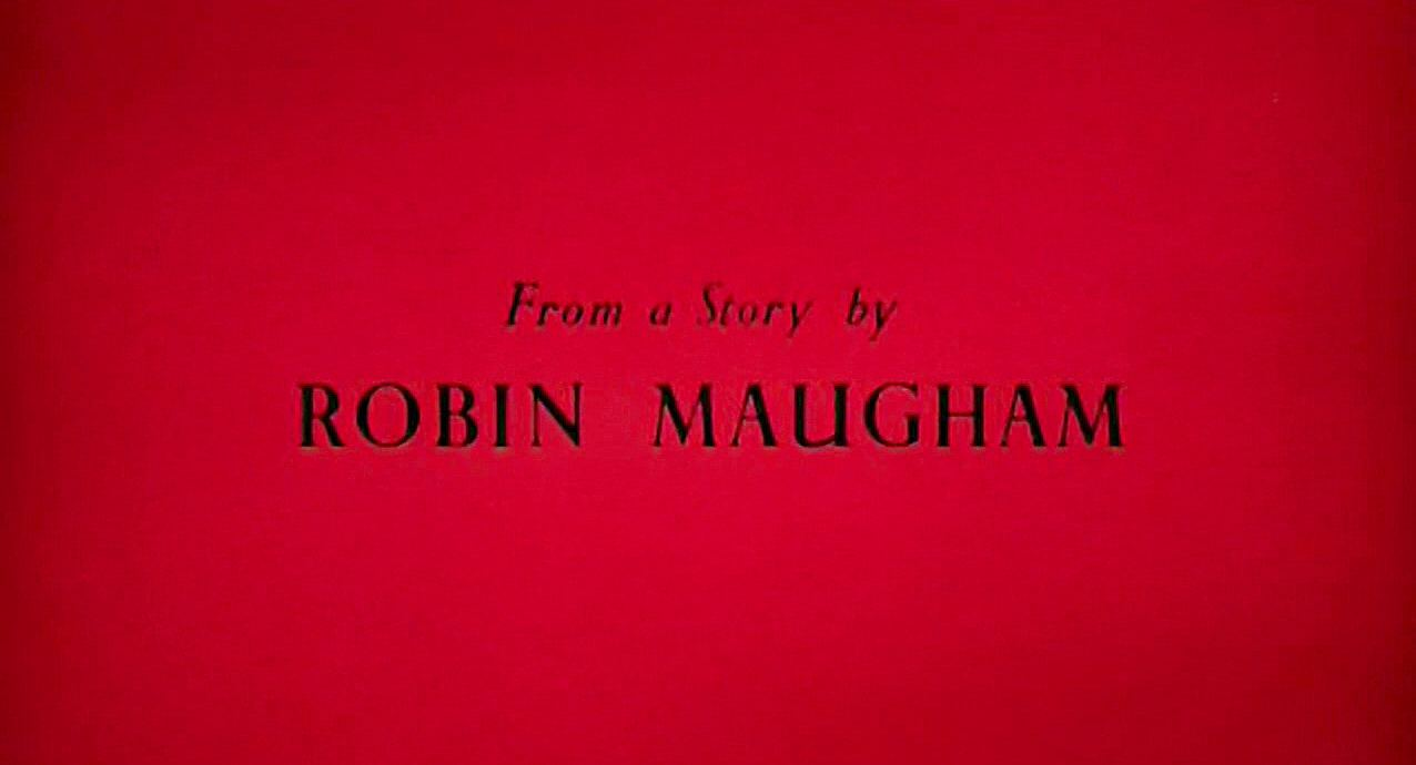 Main title from The Black Tent (1956) (7).  From a story by Robin Maugham