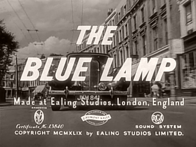 Main title from The Blue Lamp (1950)