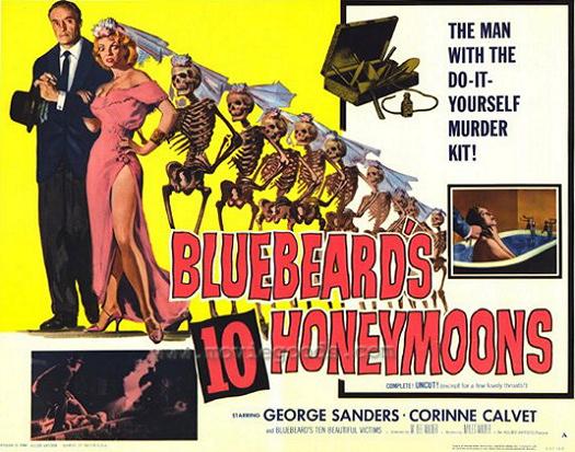 Lobby card from Bluebeard's Ten Honeymoons (1960) (4)