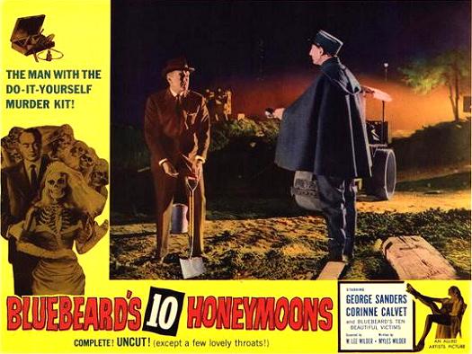Lobby card from Bluebeard's Ten Honeymoons (1960) (8)