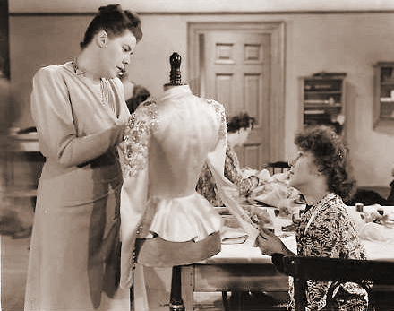 Kathleen Harrison (as Ethel Brawn) in a photograph from Bond Street (1948) (1)