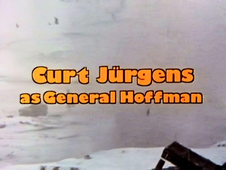 Main title from Breakthrough (1979) (11). Curt Jürgens as General Hoffman