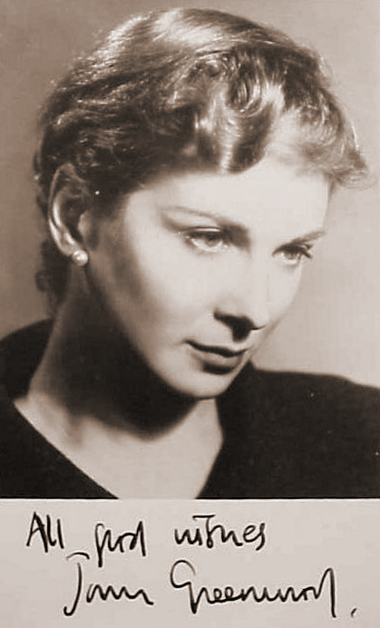 British actress,  Joan Greenwood