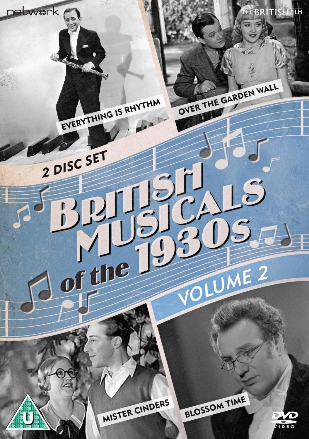 British Musicals of the 1930s Volume 2 DVD from Network and The British Film