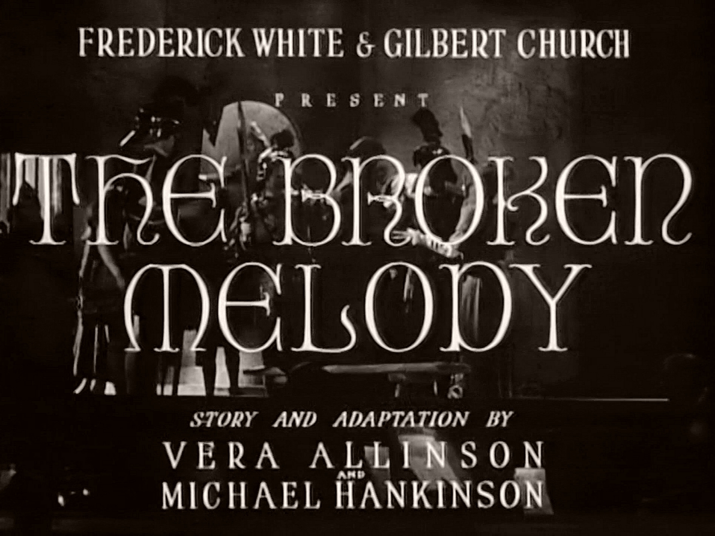 Main title from The Broken Melody (1934) (1)