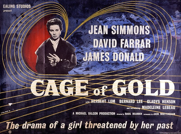 Poster for Cage of Gold (1950) (1)